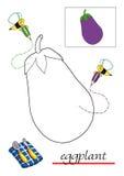 färga för 7 bokbarn royaltyfri illustrationer