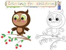 färga för barn Arkivfoton
