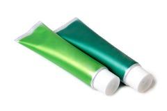 Rör av toothpaste royaltyfri bild