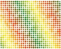 Färga lutningen cirklar vektor illustrationer