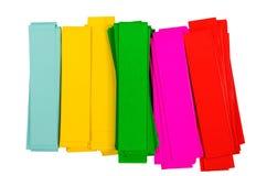 Färga pappers- Royaltyfri Bild