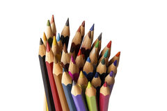 Färga ritar arkivbilder
