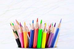 Färga ritar bakgrund Royaltyfria Bilder