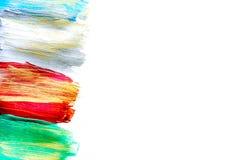 Färga textur för olje- målning för ljust bakgrundsutrymme för text Royaltyfria Bilder