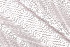 Färgabstrakt begrepplinje, kurva & bakgrund för konst för geometrisk modell för våg generativ Begrepp, tapet, vektor & digitalt royaltyfri illustrationer