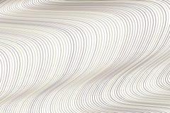 Färgabstrakt begrepplinje, kurva & bakgrund för konst för geometrisk modell för våg generativ Detaljer, yttersida, repetition & s royaltyfri illustrationer