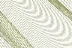 Färgabstrakt begrepplinje, kurva & bakgrund för konst för geometrisk modell för våg generativ Idérikt, repetition, stil & form royaltyfri illustrationer