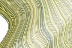 Färgabstrakt begrepplinje, kurva & bakgrund för konst för geometrisk modell för våg generativ Räkning, teckning, digitalt & begre stock illustrationer