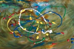 färgad abstrakt bakgrund royaltyfri bild