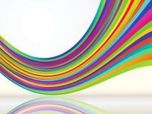 färgad abstrakt bakgrund Arkivfoton