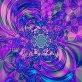 färgad abstrakt bakgrund royaltyfri illustrationer