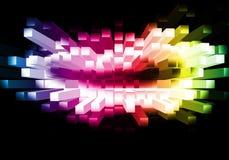 färgad bakgrund Arkivbild