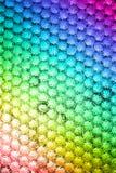 Färgad bikupabakgrund Arkivfoton