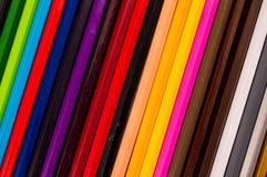 färgad blyertspenna Fotografering för Bildbyråer