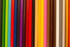 färgad blyertspenna Royaltyfri Bild