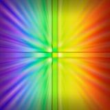 färgad explosion Arkivbilder