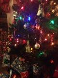 färgad jul Royaltyfri Bild