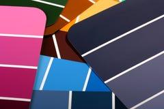 färgad mång- palett Arkivbilder