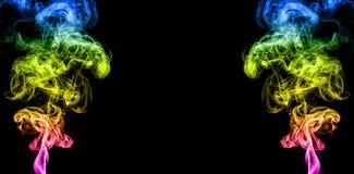 Färgad rök Arkivbild