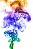Färgad rök Royaltyfri Fotografi