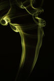 Färgad rörelse av rök är suddighet och oväsen Arkivfoton