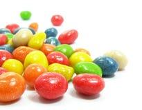 färgad sötsak för godisar Arkivbilder