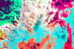 Färgad stilbakgrund för Grunge abstrakt begrepp Royaltyfri Foto