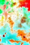 Färgad stilbakgrund för Grunge abstrakt begrepp Royaltyfria Bilder