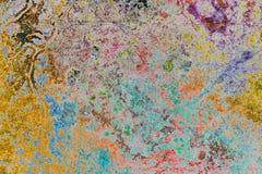 Färgad stilbakgrund för Grunge abstrakt begrepp Fotografering för Bildbyråer