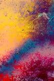 Färgad stilbakgrund för Grunge abstrakt begrepp Arkivfoto
