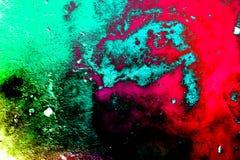 Färgad stilbakgrund för Grunge abstrakt begrepp Royaltyfri Fotografi