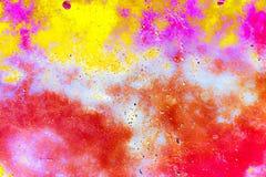 Färgad stiltextur för Grunge abstrakt begrepp Arkivfoton
