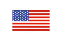 Färgad USA flagga Royaltyfri Bild