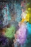 färgad vägg Arkivbild
