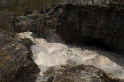Färgad vattenfall Royaltyfri Bild