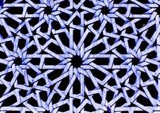 Färgade arabiska dekorativa carvings Royaltyfria Bilder
