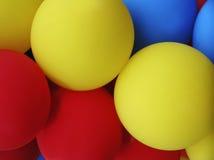 färgade ballonger Arkivbild