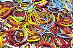 färgade band Arkivfoto
