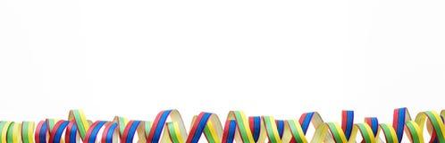 Färgade banderoller Royaltyfria Foton