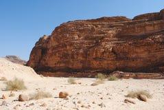 färgade berg för kanjon Royaltyfri Fotografi