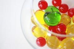 färgade bollar Royaltyfria Foton