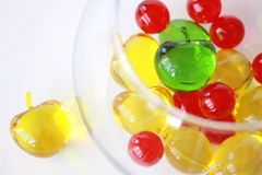 färgade bollar Fotografering för Bildbyråer