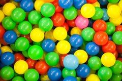 färgade bollar Royaltyfri Bild