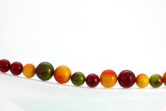 färgade bollar Arkivfoto