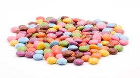 färgade bonbons Royaltyfria Foton
