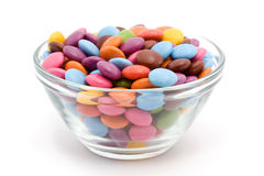 färgade bonbons Royaltyfri Bild