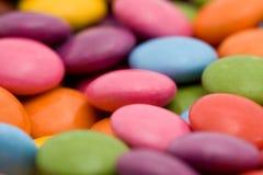 färgade bonbons Fotografering för Bildbyråer