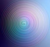 färgade cirklar royaltyfri illustrationer