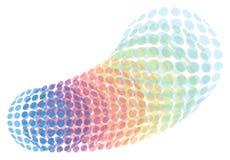 färgade cirklar Royaltyfri Foto