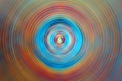 färgade cirklar Royaltyfria Bilder
